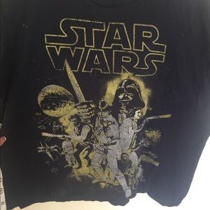 Star Wars Tops - ❤️Star Wars Cropped T shirt